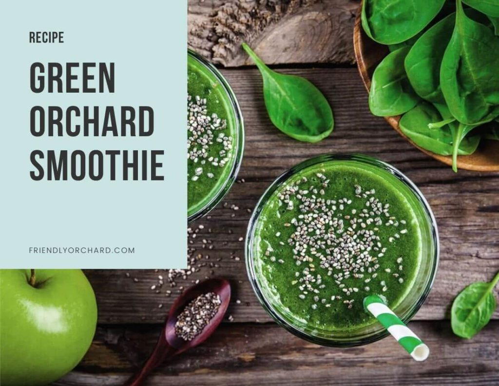 Green Orchard Smoothie | Friendly Orchard