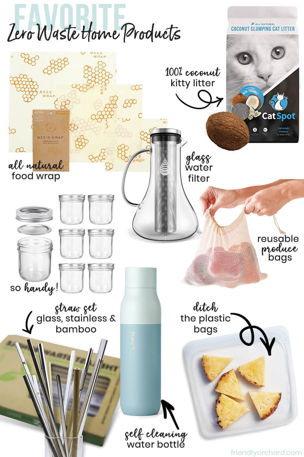 Zero Waste Home Products | Friendly Orchard